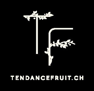 Logo tendance fruit ivoire